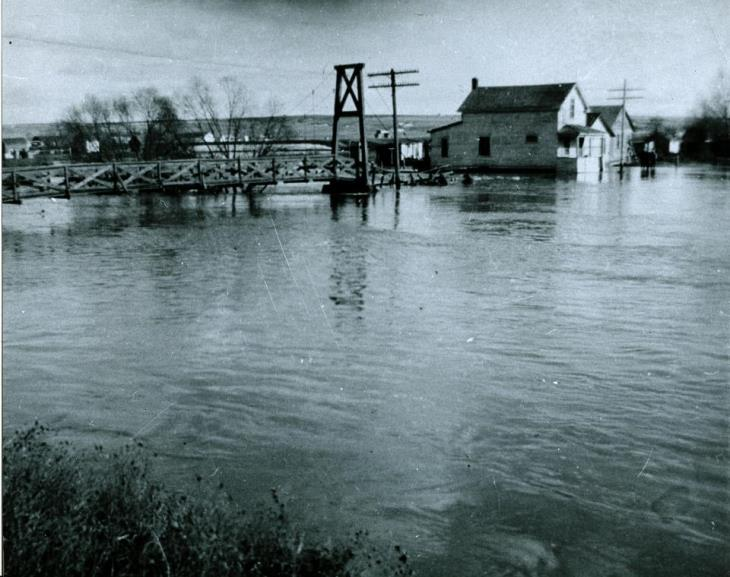 April 7 - 1952 flood