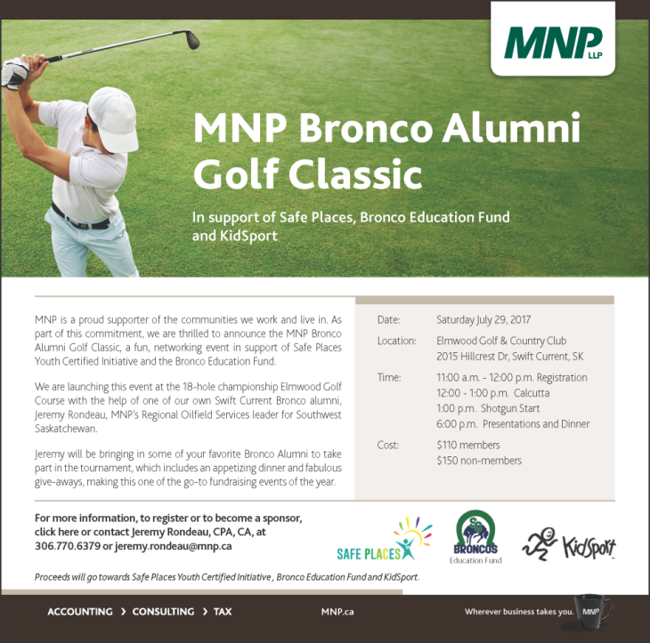FINAL- MNP Bronco Alumni Golf Classic- Invite