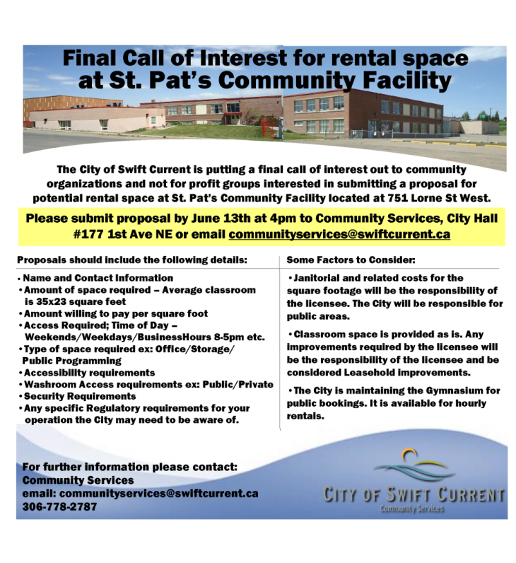 Final Call of Interest St Pats Paper Ad