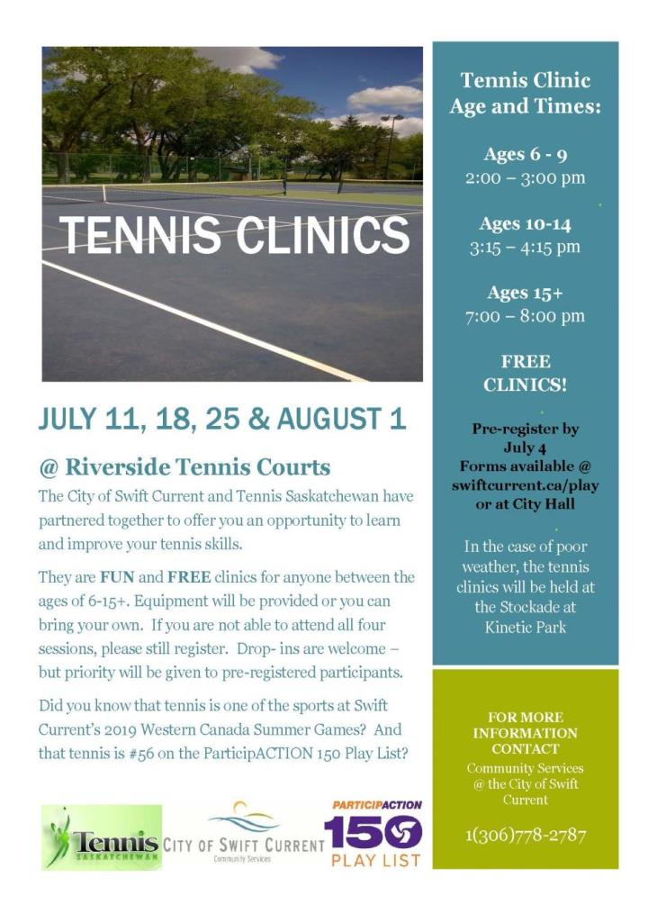tennis clinic poster 2017 - revised