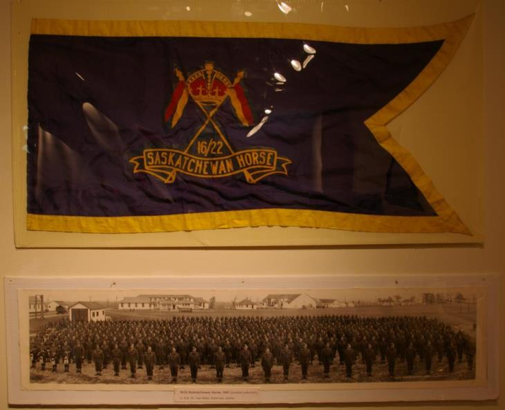 16th 22nd Light Horse flag and pic