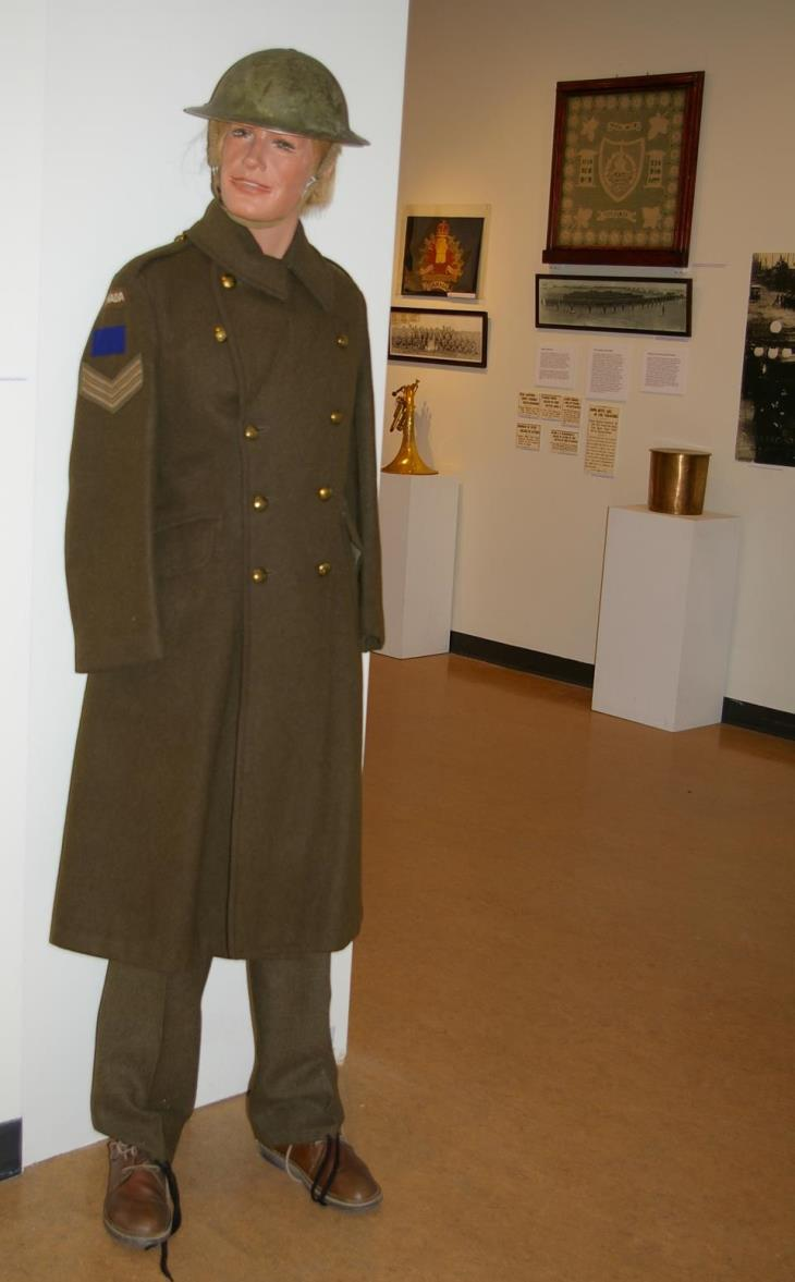 Guy in uniform to open exhibit