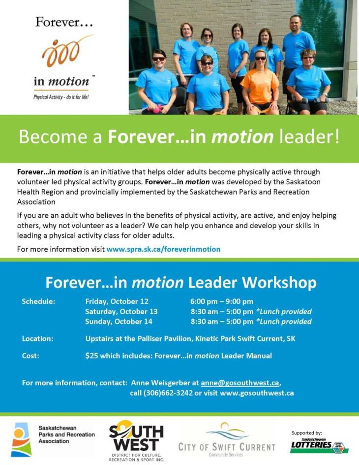 Forever in Motion workshop poster