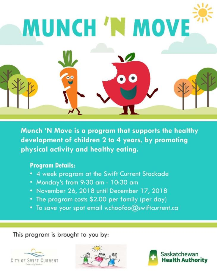 Munch 'N Move poster